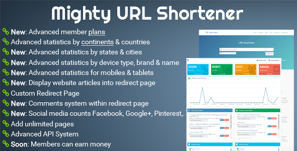 Mighty URL Shortener
